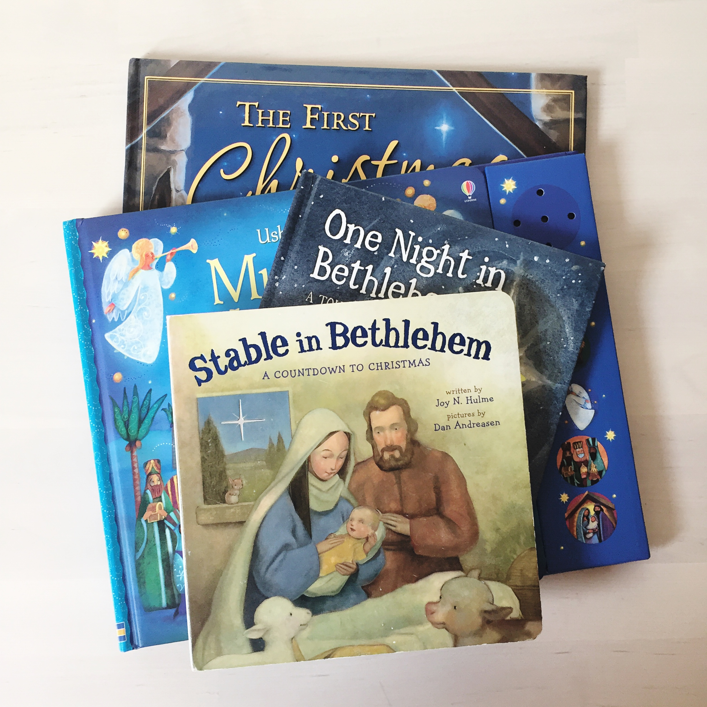 Nativity Christmas picture books childrens books