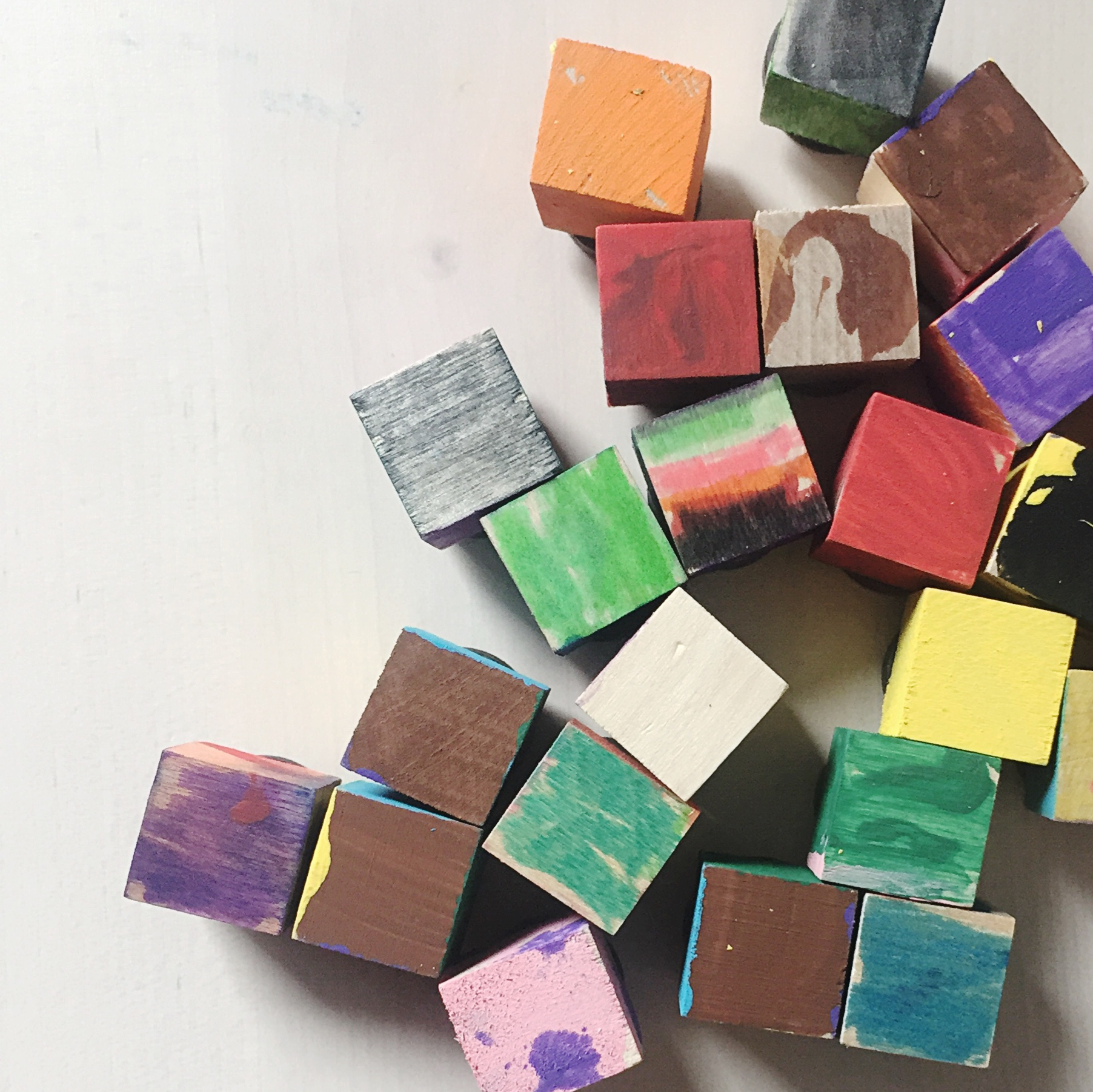 Kid Made Christmas Gift Idea Easy Magnets