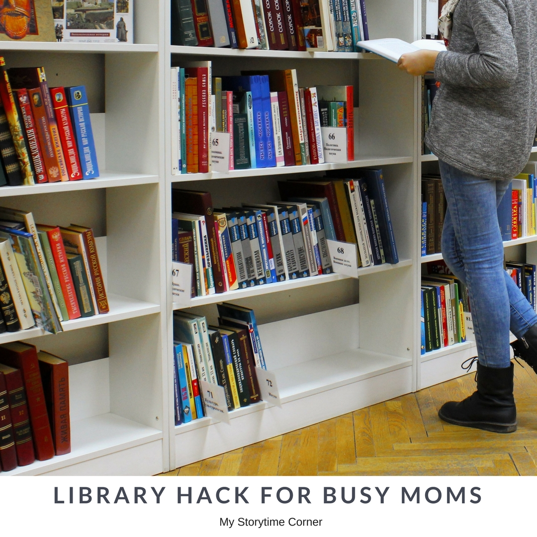 Life Changing Library Hack for Busy Moms