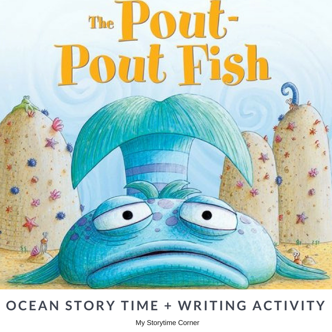 Pout Pout Fish Inspired Early Writing Activity About Emotions and ...